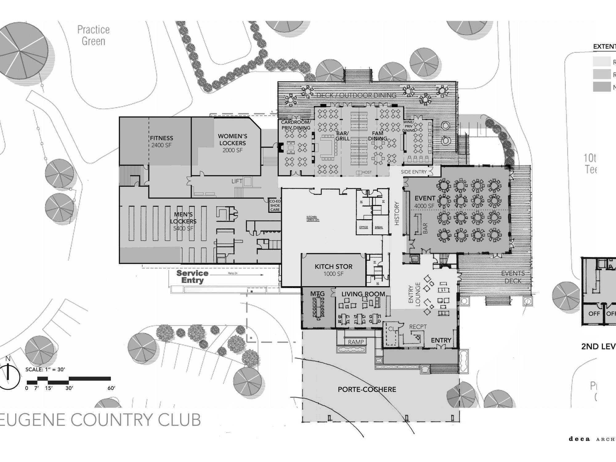 deca inc eugene country club close